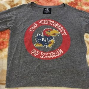 KU long sleeve t shirt